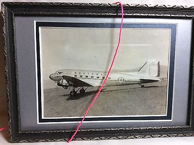 Northwest Airlines DC-3 Framed Photograph