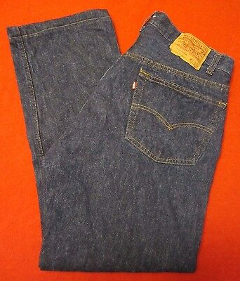 Levi's 501 1980's VTG USA Made Blue Jeans 37x30 Near Mint Small Defect LOOK!