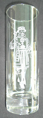Beefeater Gin Tall Etched Glass