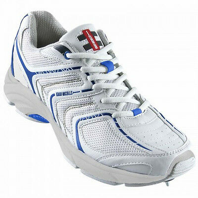 Gray-Nicolls Viper Cricket Spike Shoes Boots US Size 9.5 Removable Spikes