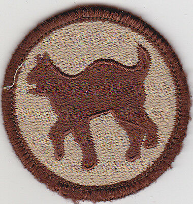 U.S. ARMY 81st REGIONAL SUPPORT COMMAND/ 81st DIVISION Patch, Subdued