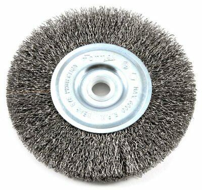 Forney 72741 Wire Wheel Brush, Coarse Crimped with 1/2-Inch Through 5/8-Inch