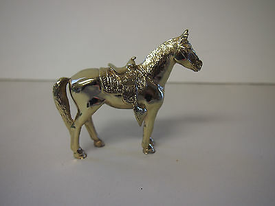 Horse Colored Metal Statue Heavy