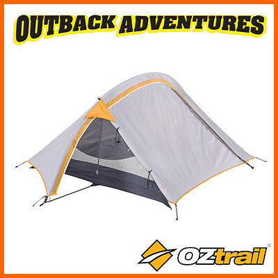 OZtrail BACKPACKER HIKING 2 MAN PERSON LIGHTWEIGHT DOME TENT UPDATED NEW MODEL