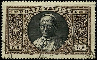 Vatican 1933 stamps definitive USED Sas 30 CV $55.00 161126032