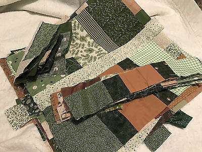 """Lot of 23 quilt blocks about 16"""" x 17"""""""