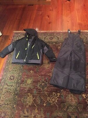 Boys Ski Bib & Coat Size 6-7