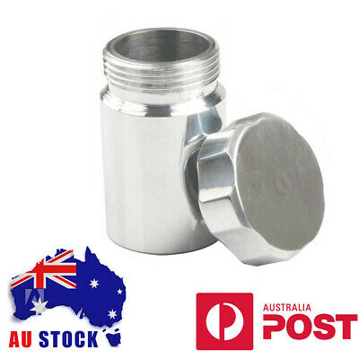 Aluminium Alloy Weld On Filler Neck With Cap, 33mm ID 38mm OD - Fuel/Oil Tank