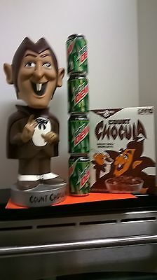 VINTAGE MONSTER giant huge large size COUNT CHOCULA BOBBLEHEAD
