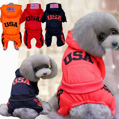 Pet Coat Dog Jacket Warm Winter Clothes Puppy Cat Sweater Coat Clothing Apparel