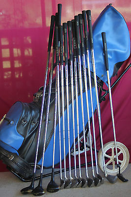 Pro Simmons left hand golf clubs set in Great Condition