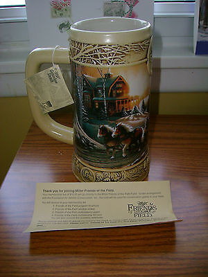 Nwt Miller Genuine Draft Ducks Unlimited Terry Redlin Collection Beer Stain Mug