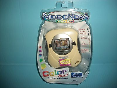 Tiger Video Now Color Video Player ( IN PEARL FINISH  ) New Sealed FREE SHIPPING