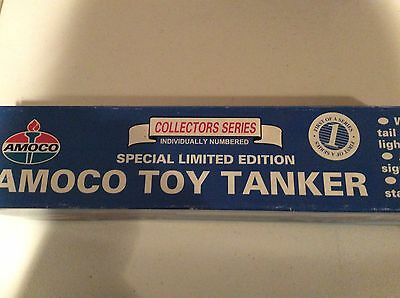 Amoco Toy Tanker Collectors Series Individually Numbered Special Limited Edition