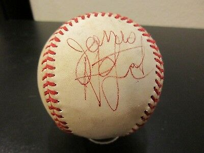 Metallica Novelty Autographed 1984 OAL Baseball *New  Design For Spring*