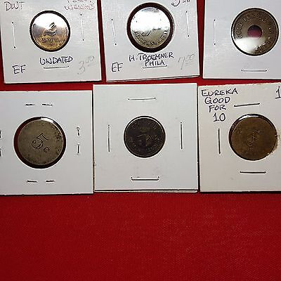 6 Different Apothegary Weights,maverick Tokens & Good For And More.