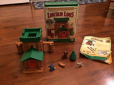 Great Valley Lookout Lincoln Logs Set Complete With Instructions