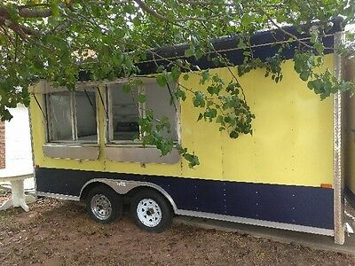 Used Concession Trailer 21 x 8 1/2