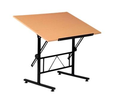 Martin Birch Top Smart Adjustable Table for Artists and Crafters