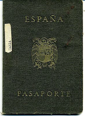 1949 Spain  Expired Canceled Collectable Passport, Travel Document