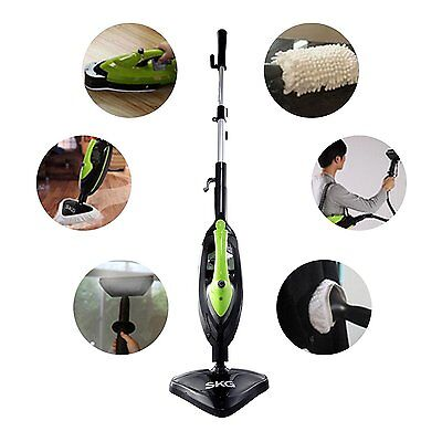 SKG 6 in 1 Household Steam Mop Multi-funtion Team Cleaner Handle Steam Brush Sta