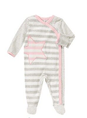 NWT Gymboree Baby Girl Striped Star Footed One-Piece--Size 6-9 Months