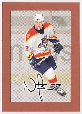 Nathan Horton 2004 Upper Deck Bee Hive Florida Panthers 12.5 X 17.5 Cm's