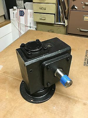 Speed Reducer 60/1 HDRF237-60/1-R- 56C Used 1 Time Gear Reducer Gear Box