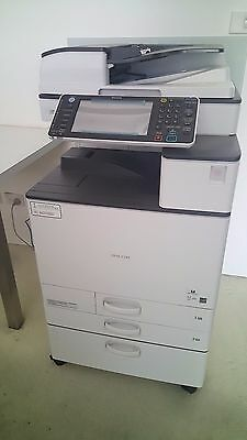 Ricoh MPC3003 CURRENT MODEL Colour Multifunction with Copy Scan Print LOW PRINTS