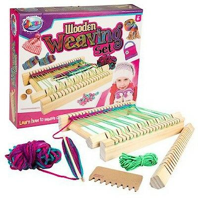 Jacks Grafix Wooden Loom Weaving Kit