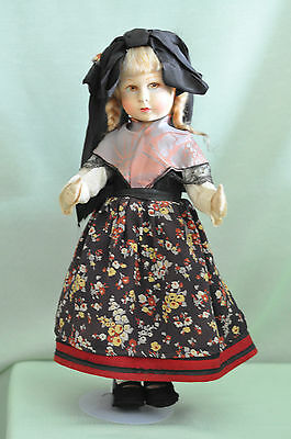 "Vintage 18""in. Original RARE French Raynal Doll Excellent"