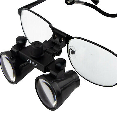 USPS Dental Loupes Surgical Medical Binocular Optical Magnifier Glass 3.5X