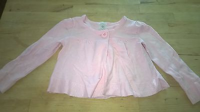 Pretty Target knit girls one button cardigan 2 as new