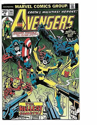 Avengers #144 VF/NM 9.0 First Appearace Patsy Walker as Hellcat