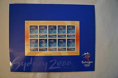 Olympic Games Collectable - Sydney 2000 - Olympic Games Stamp Pack - Sealed