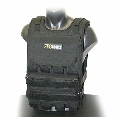 ZFOsports 40LBs Adjustable Weighted Vest Build muscle Weight Loss For Men Women