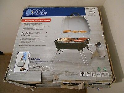 New Blue Rhino Gbt806T Portable Lp Gas Grill Bbq Barbecue Camping Outing Home