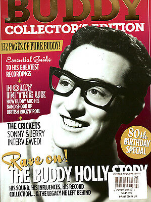Vintage Rock Magazine Presents: Buddy Collector's Edition NEW Buddy Holly