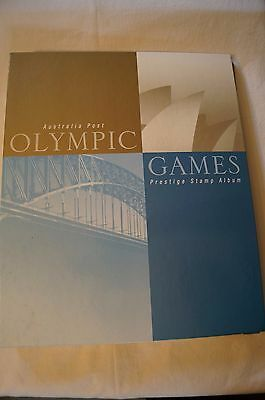 Olympic Games Collectable - Sydney 2000-Olympic Prestige Album -First Day Covers