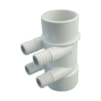 "Manifold Hot Tub Spa Part 2"" Slip X 2"" Spg x (4) 3/4"" Slip Ports spa distributor"