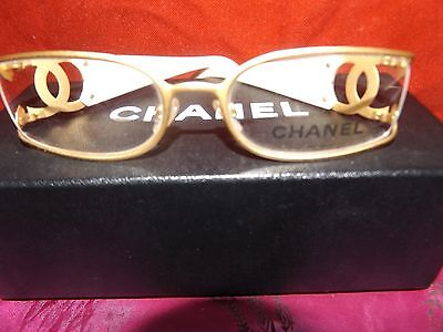 New Authentic Designer Statement CHANEL Glasses Frame Spectacles Chanel Case Bag