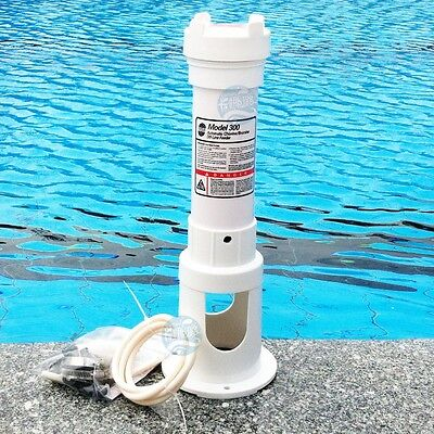 automatic hot tub chlorine feeder pool chemical feeder chlorinate dispenser