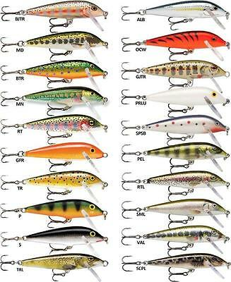 Rapala Countdown Lures - Huge Range of Sizes and Colours - Predator Fishing Lure