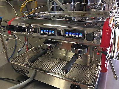 Expobar Rugerro 2 group Coffee Barista Red