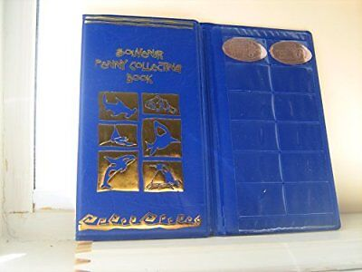 ONE Blue Souvenir Penny Collecting Book/Album For Elongated Pennies New