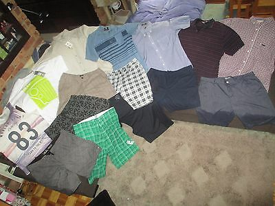 Bulk Lot Men's 40/XX-Large summer clothes: Oakley/Parc/JAG/Faded Glory/The Realm