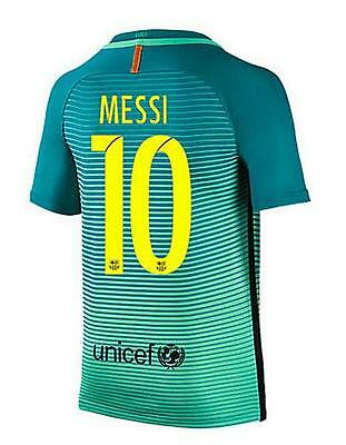 Barcelona Third jersey Soccer MESSI 10 in size L