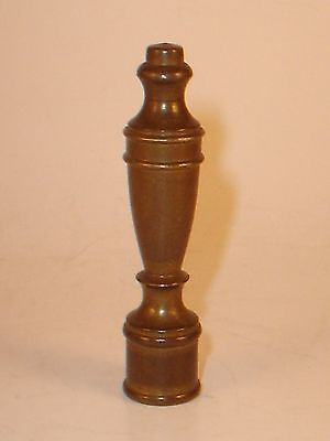 Vintage Brass Lamp or Light Fixture Finial Topper Antique Hardware Parts