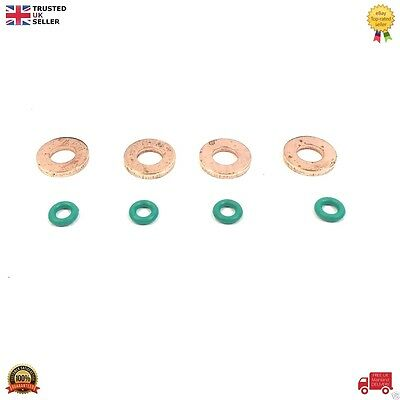 FORD FUEL INJECTOR WASHER + ORING SET FOR TRANSIT MK7 2.2 / 2.4 TDCi RWD