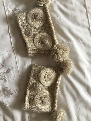 Owl Knitted BootToppers